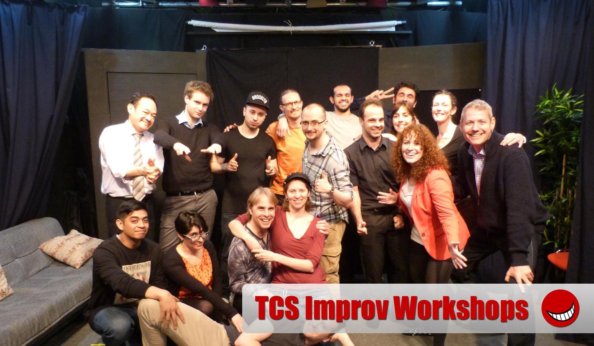 TCS Improv Foundation Thursday 2-hour Worksho