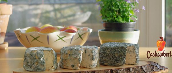 Vegan blue cheese, by Cashewbert