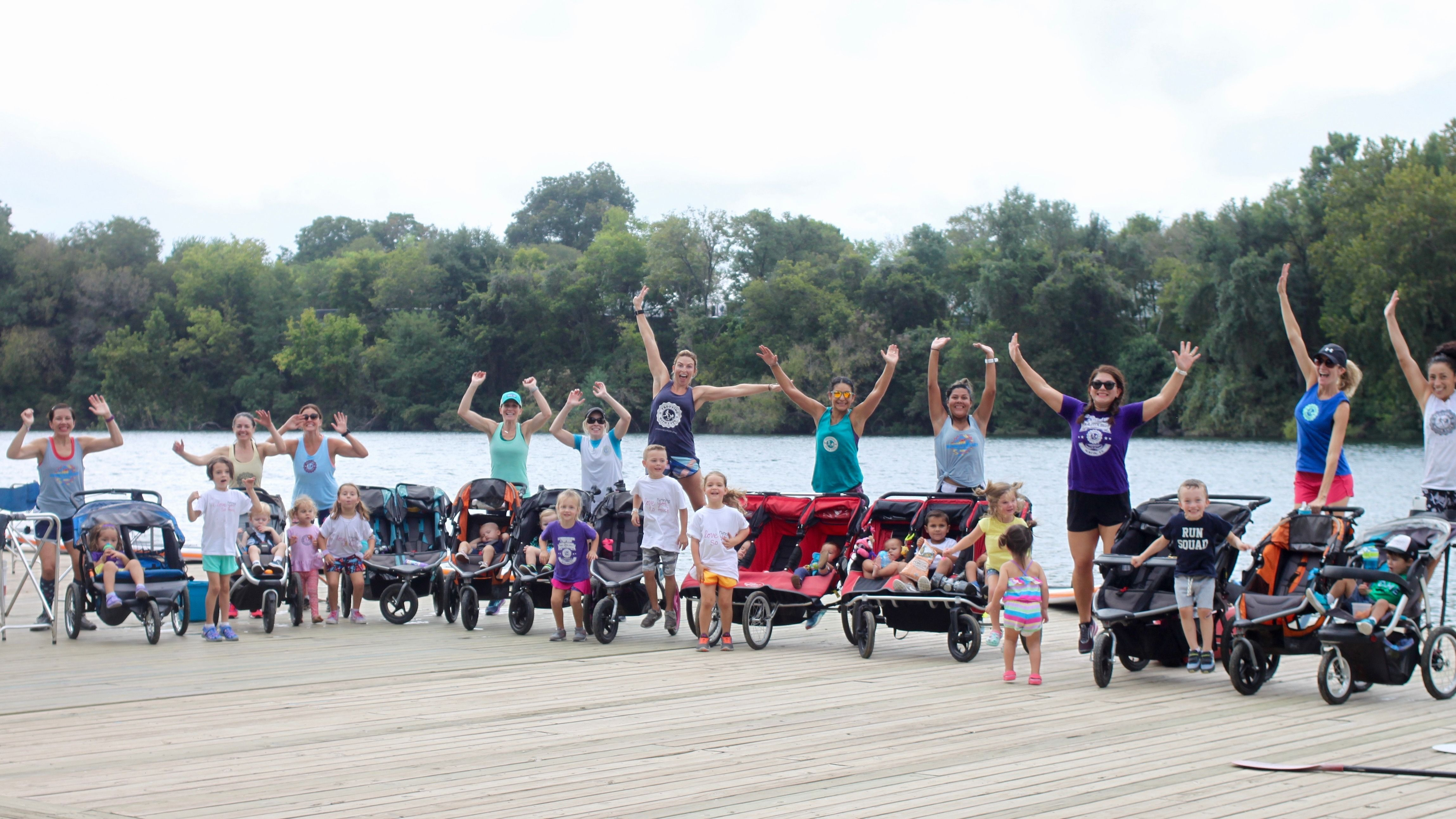 Trotting With Tots: (An Active Group for Moms w/ Strollers)