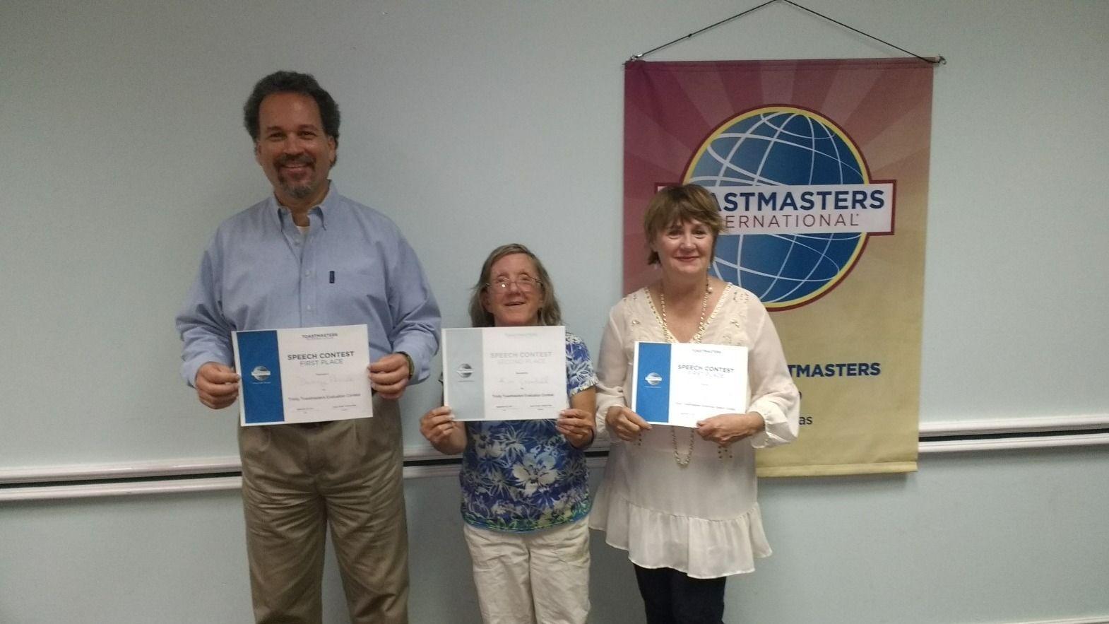 Weekly - Trinity Toastmasters Meeting