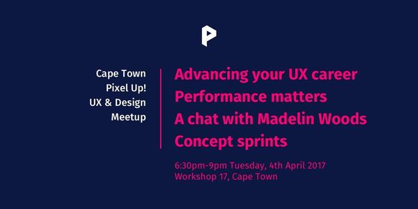 In Cape Town Advancing Your Ux Career Concept Sprints Eventil