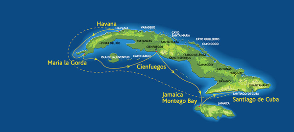 Cuba Cruise from Montego Bay Jamaica Discovering Houston