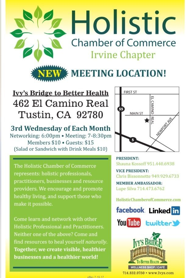 Irvine Holistic Chamber of Commerce