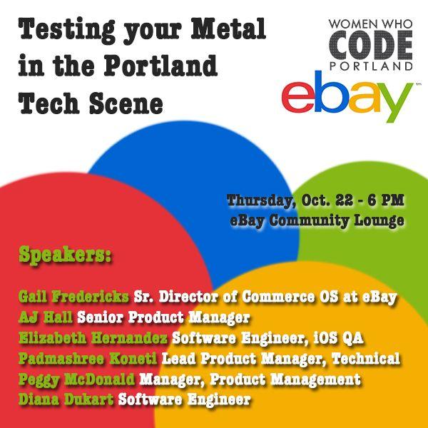 Networking Night Ebay Calagator Portland S Tech Calendar
