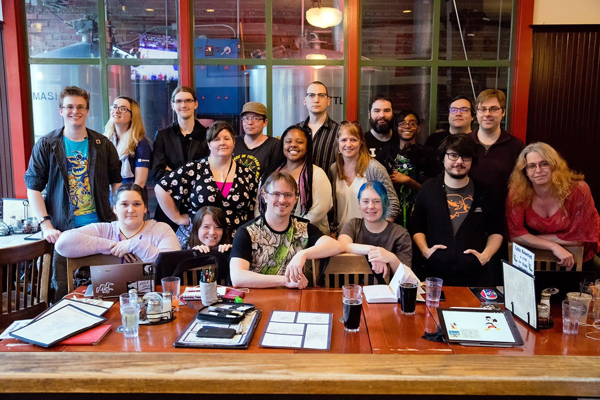 Seattle Indie Comic and Game Artists