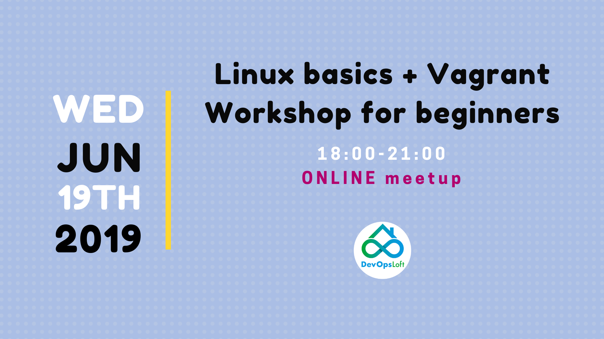 Linux basics + Vagrant - workshop for beginners