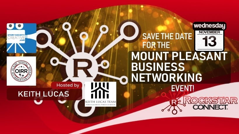 Mt. Pleasant Business Networking powered by Rockstar Connect