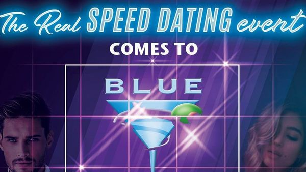 Speed Dating Blue Martini