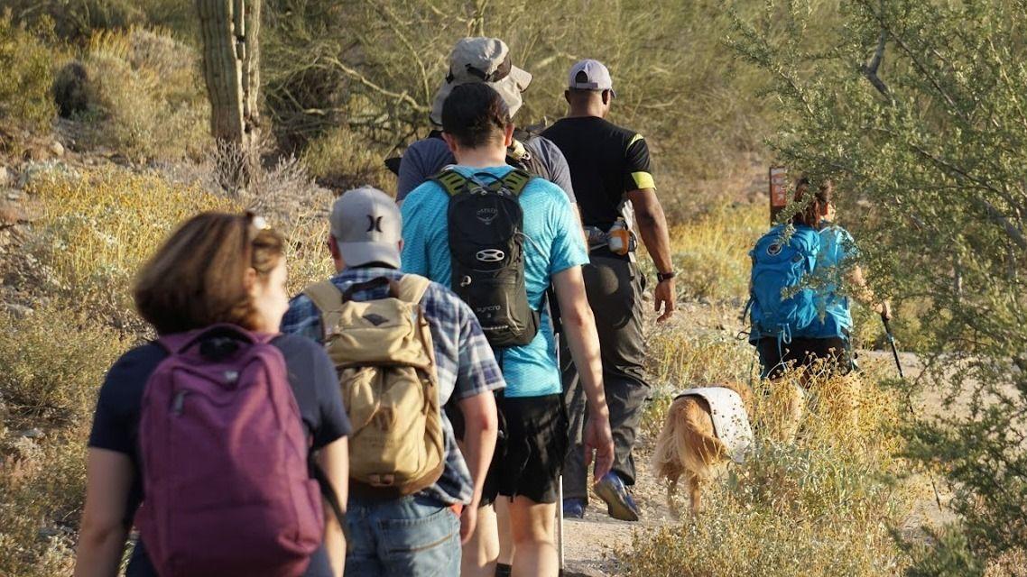 Hiking with Geeks - Phoenix Valley