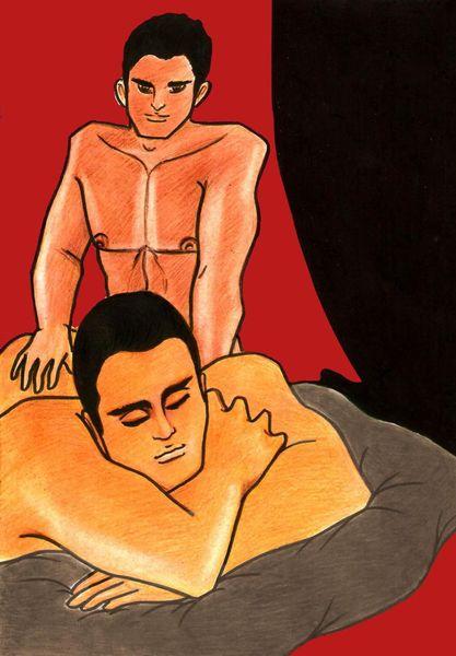 Erotic male massage exchange