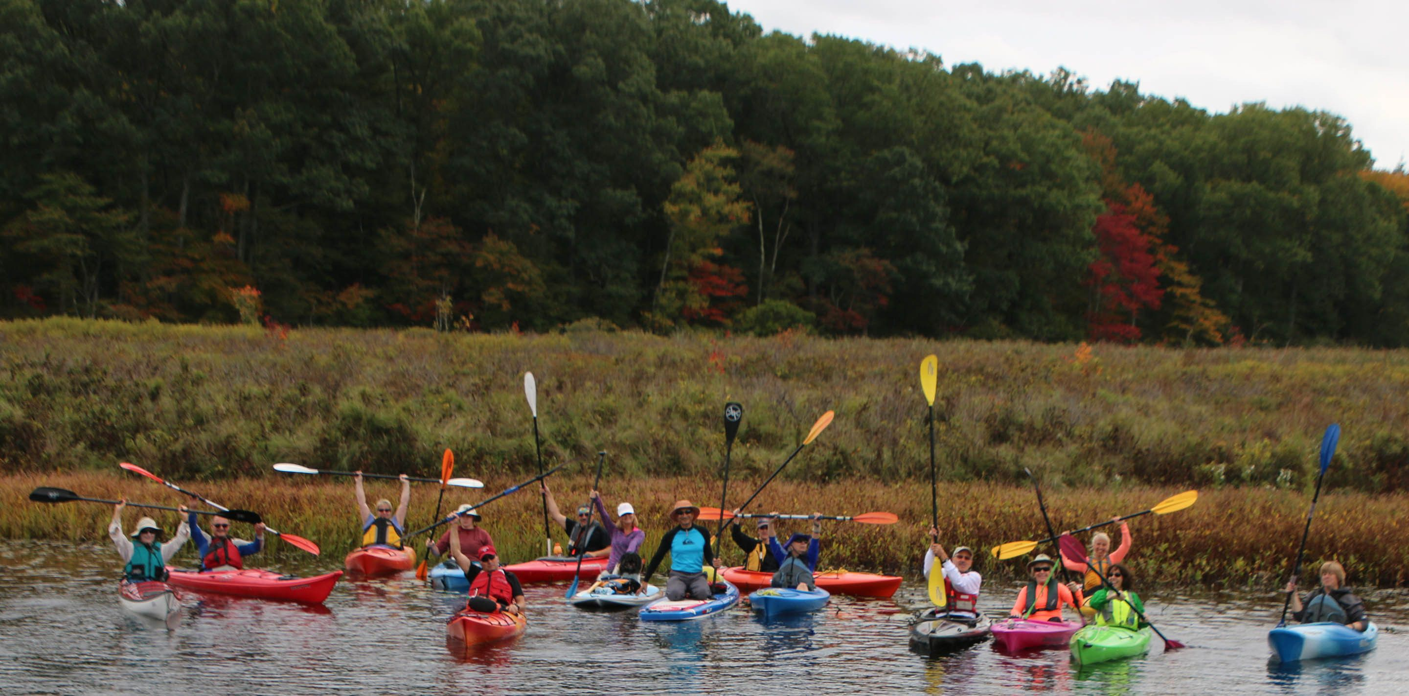 The Worcester Paddling Meetup Group