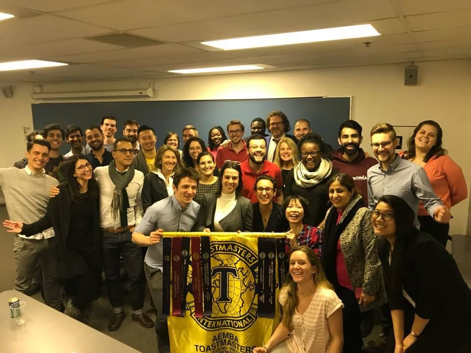 Practice public speaking and presentation skills with HEC Toastmasters Club