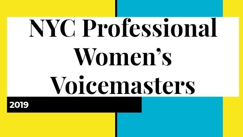Professional Women's Toastmasters Midtown NYC