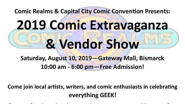 2019 Comic Extravaganza   Meetup
