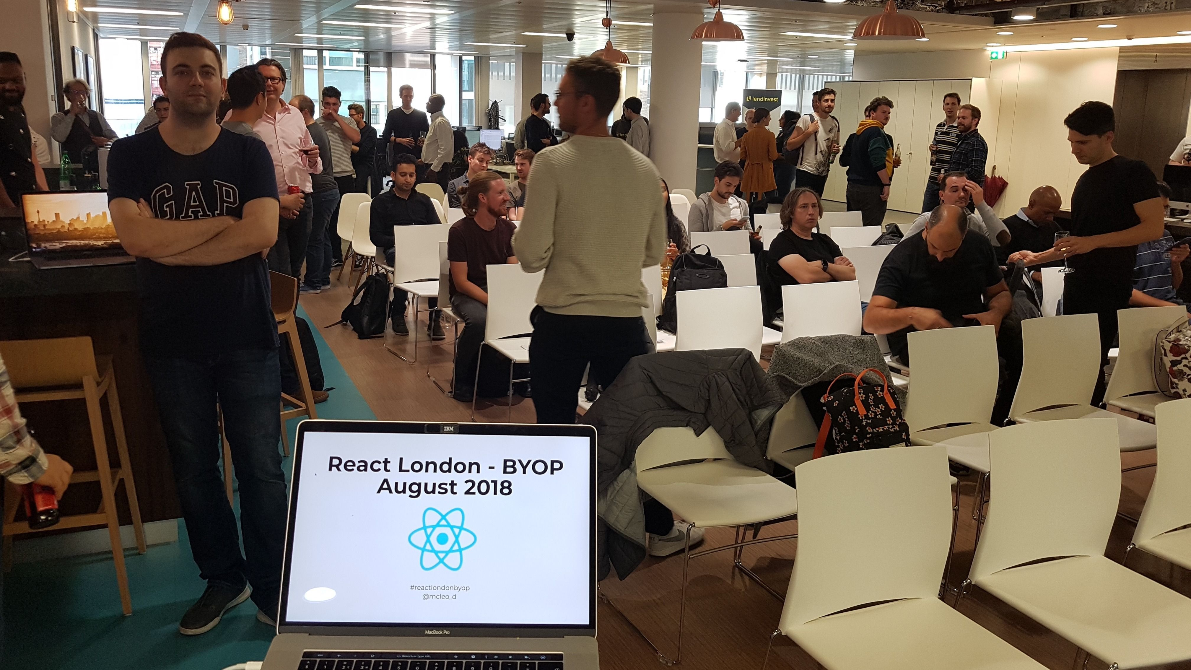 React London : Bring Your Own Project