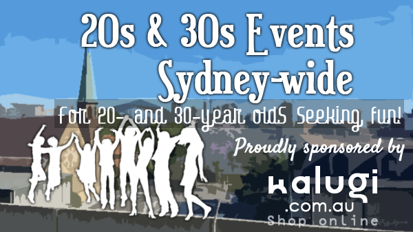 20's & 30's Events Sydney Wide