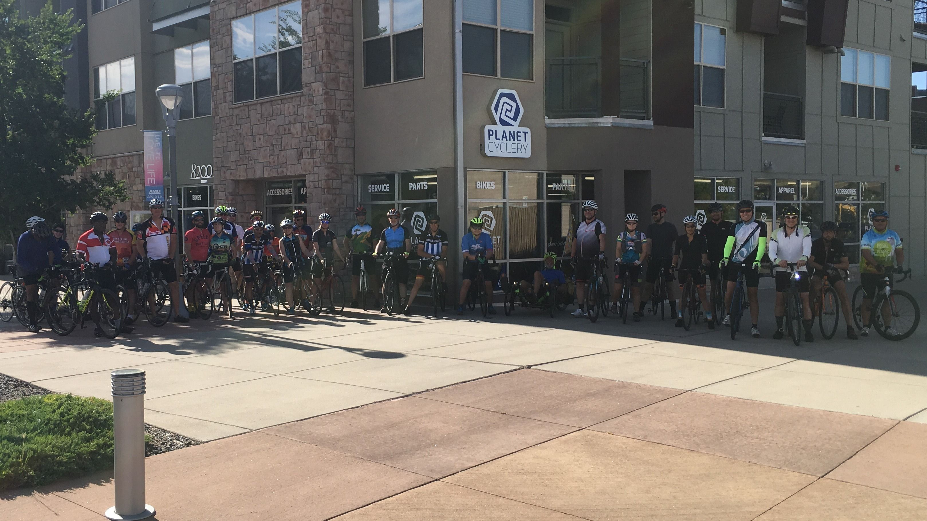 Planet Cyclery Broomfield Group Ride