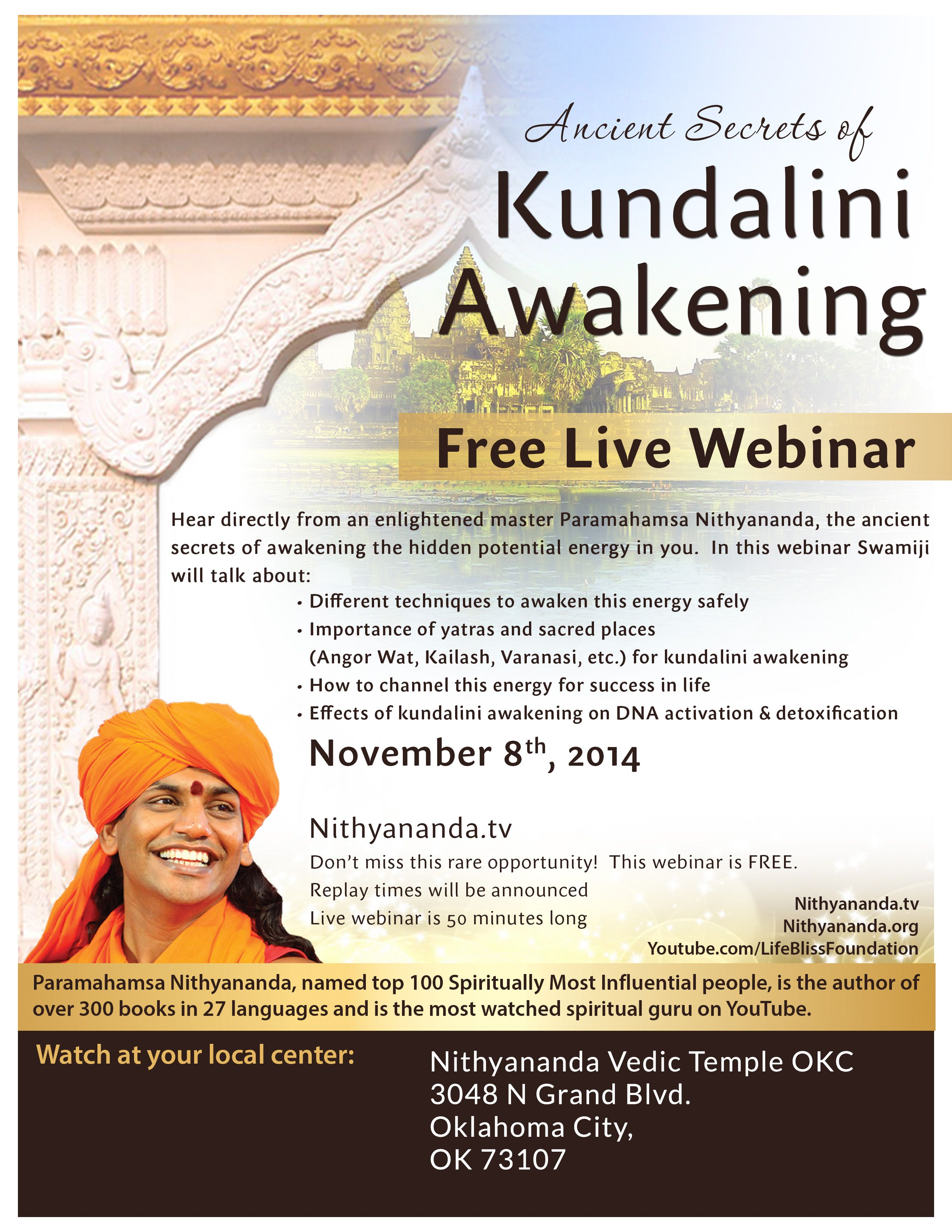 Ancient Secrets of Kundalini Awakening (Free Webinar) | Meetup