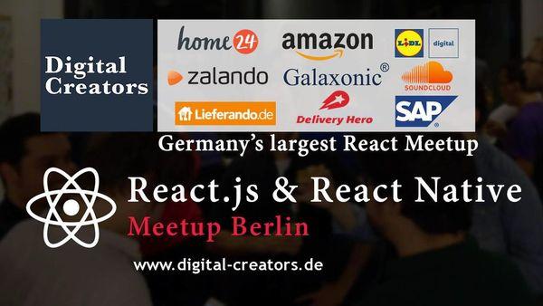 Photos - React js & React Native Berlin (Berlin) | Meetup