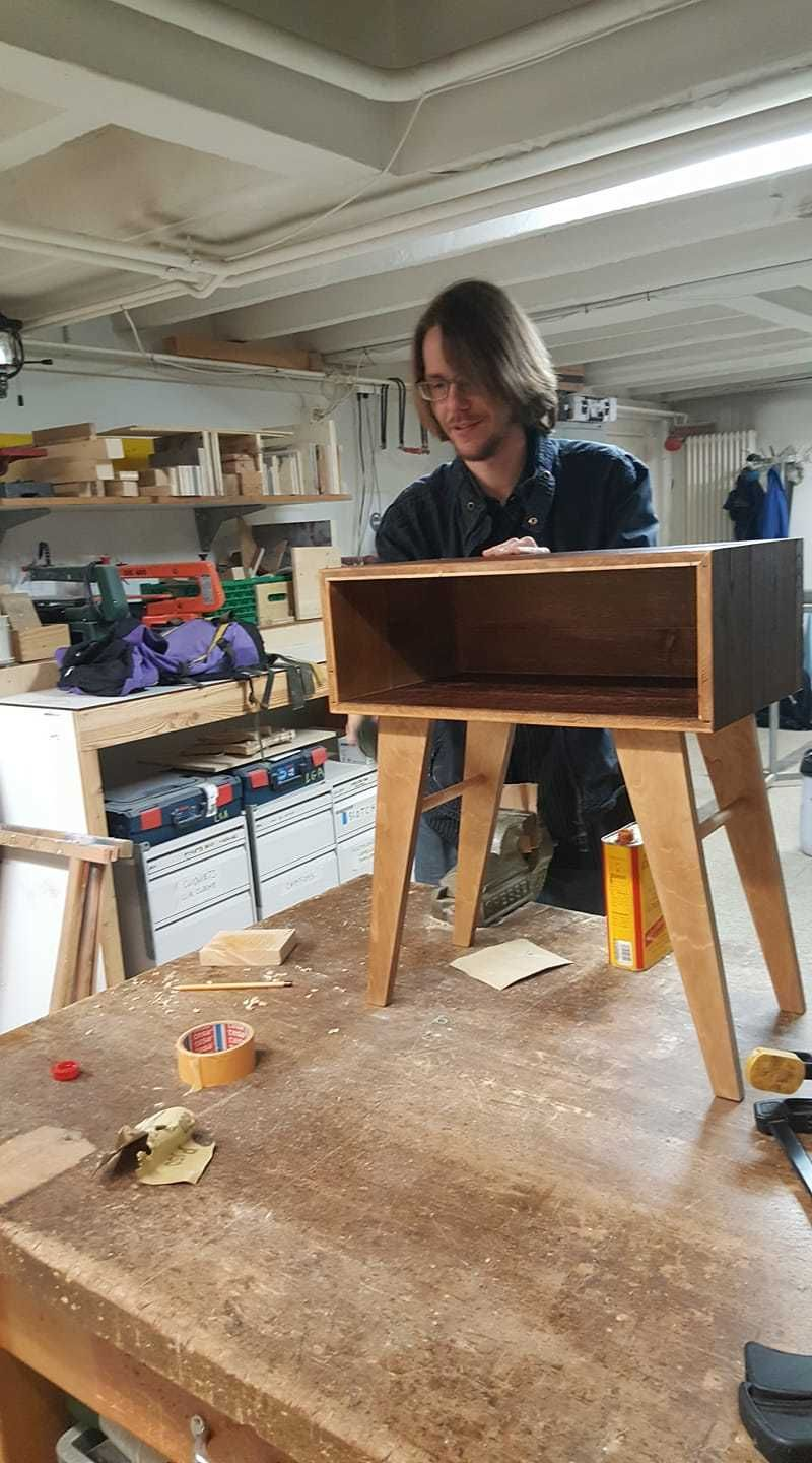 Open wood workshop for beginners and creativists