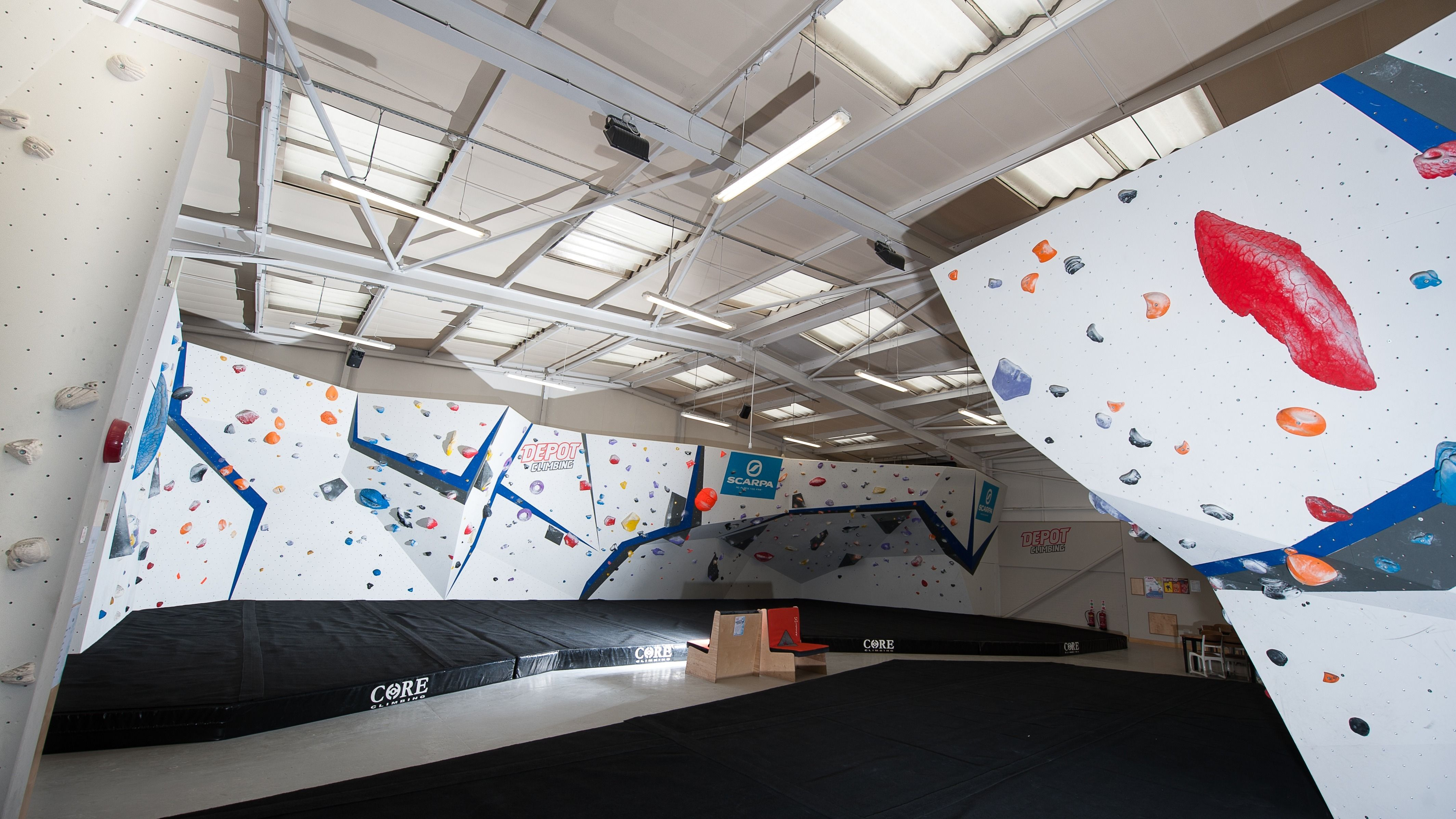 Bouldering at The Depot, Manchester