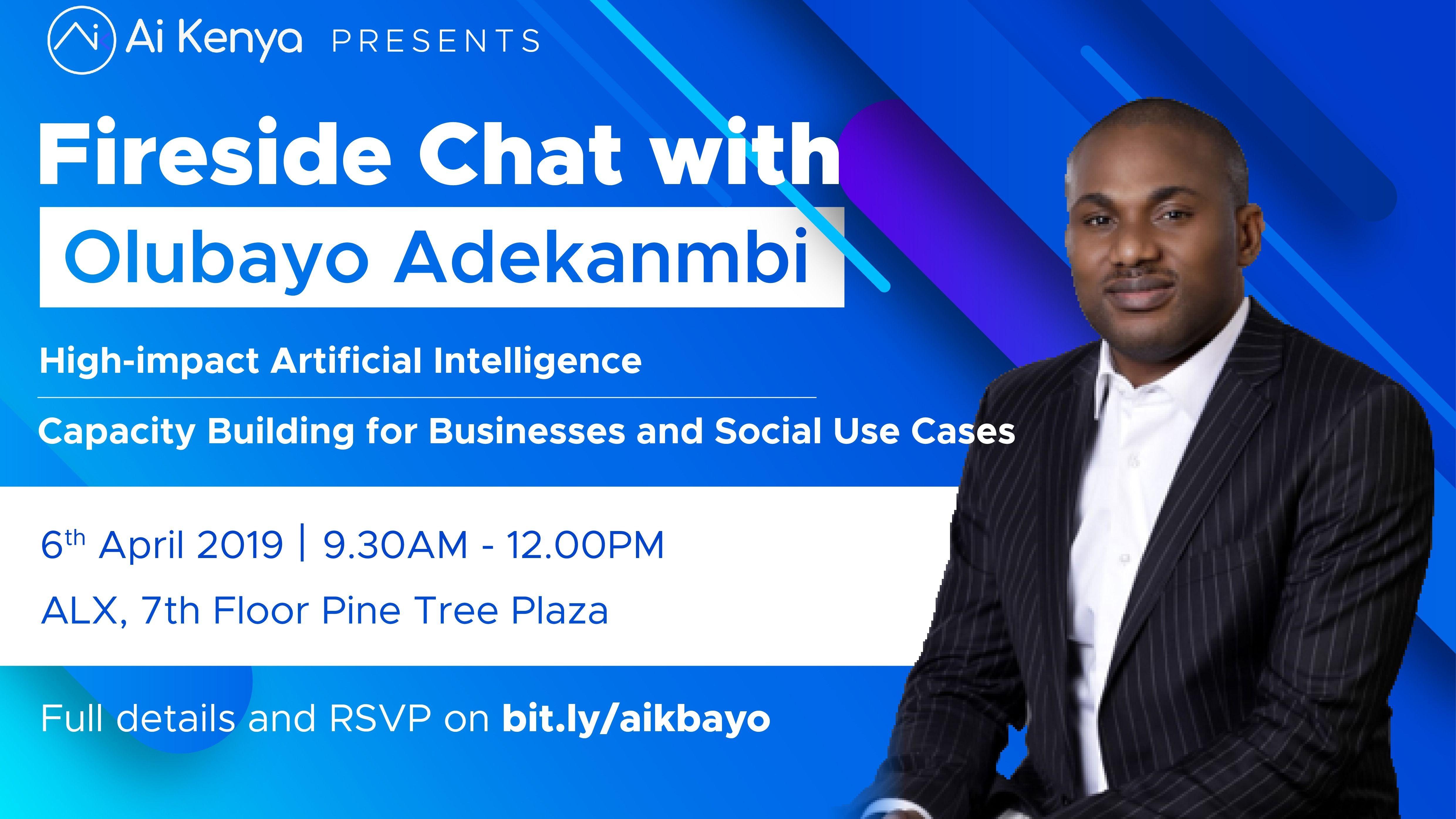 Fireside Chat with Olubayo Adekanmbi