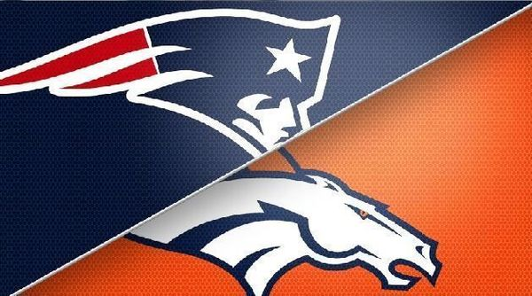 Image result for New England Patriots vs. Denver Broncos