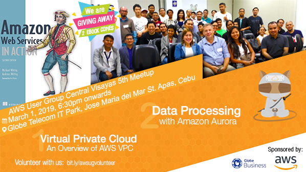 AWS User Group Central Visayas - 5th Meetup | Meetup