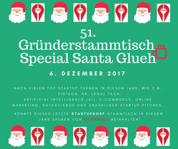 Len Düsseldorf startupdorf gründerstammtisch special santa glueh no 51