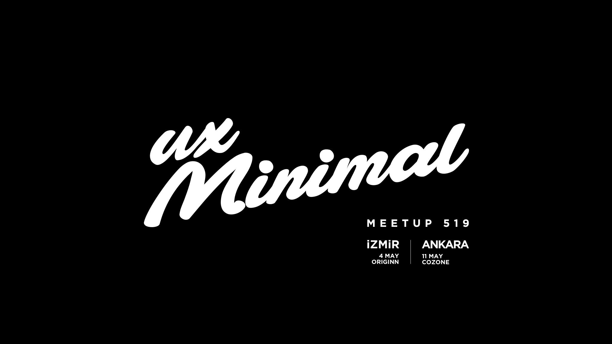 UX'minimal