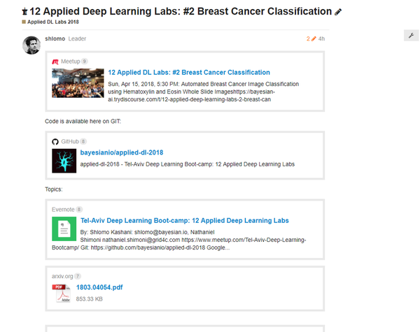 12 Applied DL Labs: #2 Breast Cancer Histo Classification | Meetup