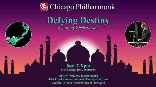Chicago Philharmonic Plays Scheherazade Romeo And Juliet