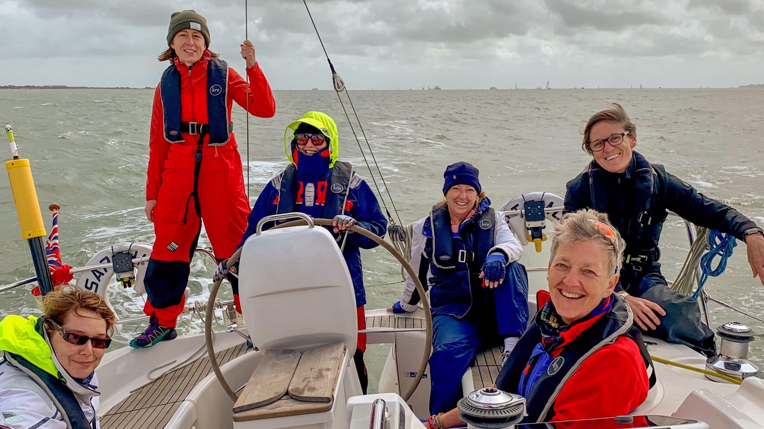 SheSails Women's Sailing Meetup (Solent Area)