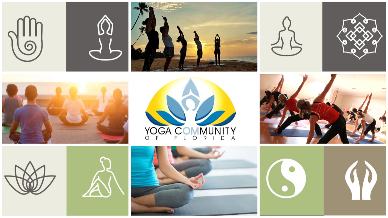 the yoga cOMmUNITY of south Florida
