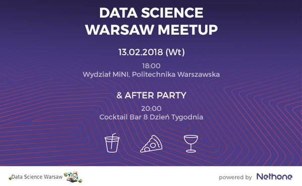 Data Science Warsaw #33 | Meetup