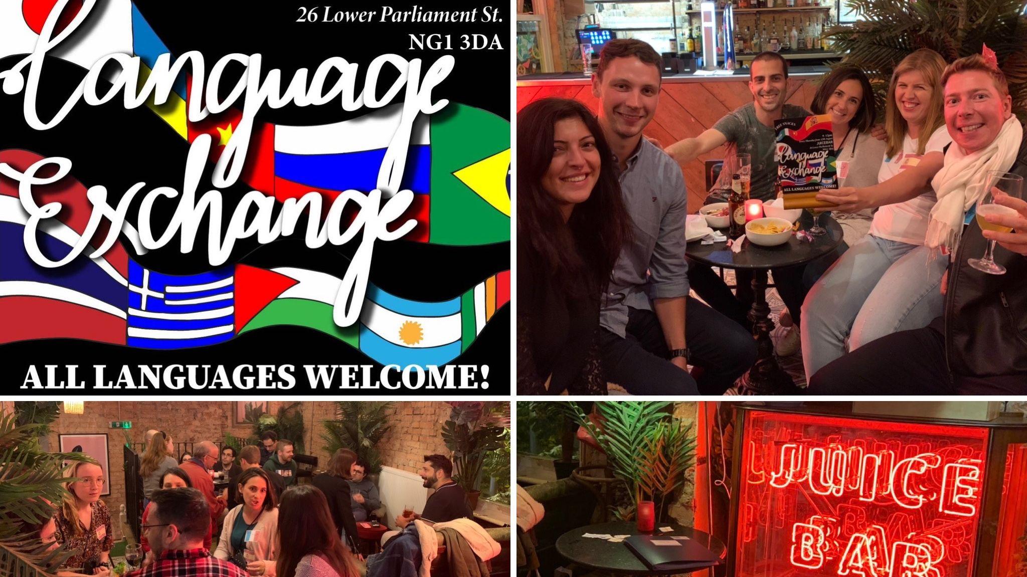 JuiceBar Language Exchange