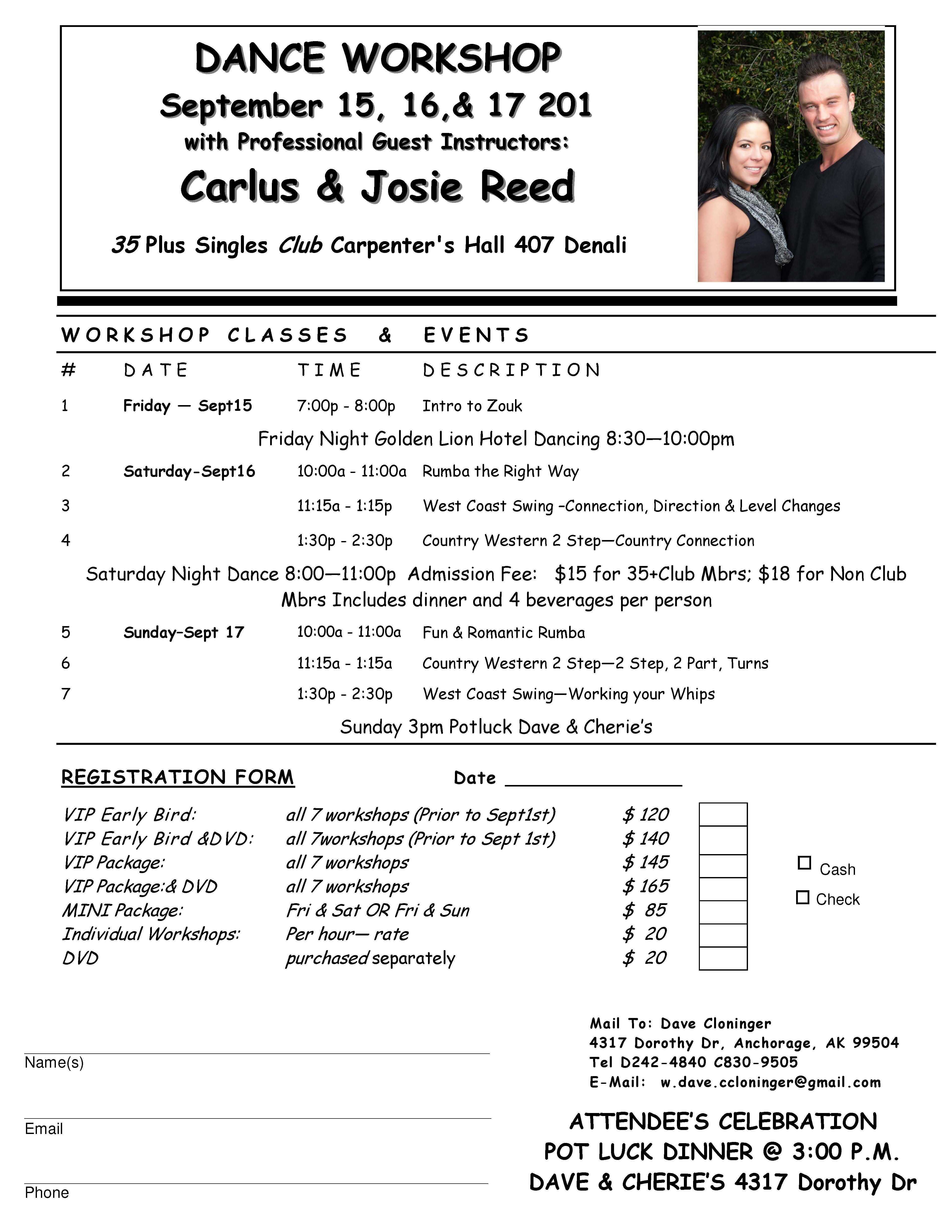Anchorage singles events