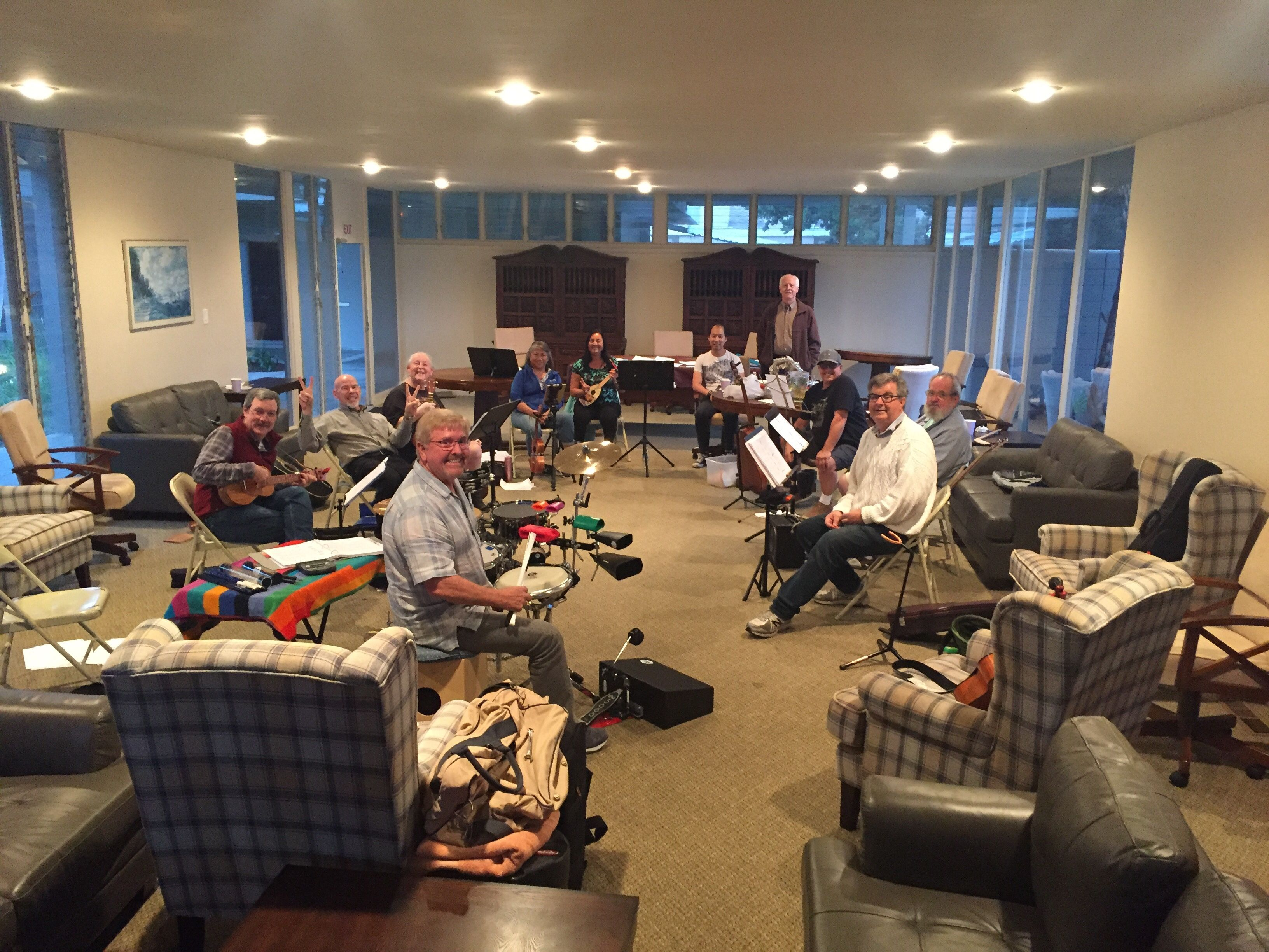 Costa Mesa Crooners uke and other strings