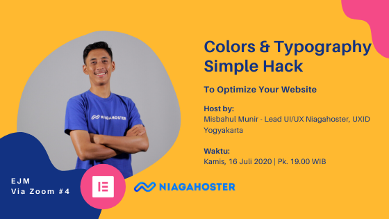 Colors & Typography Simple Hack To Optimize Your Website - event image