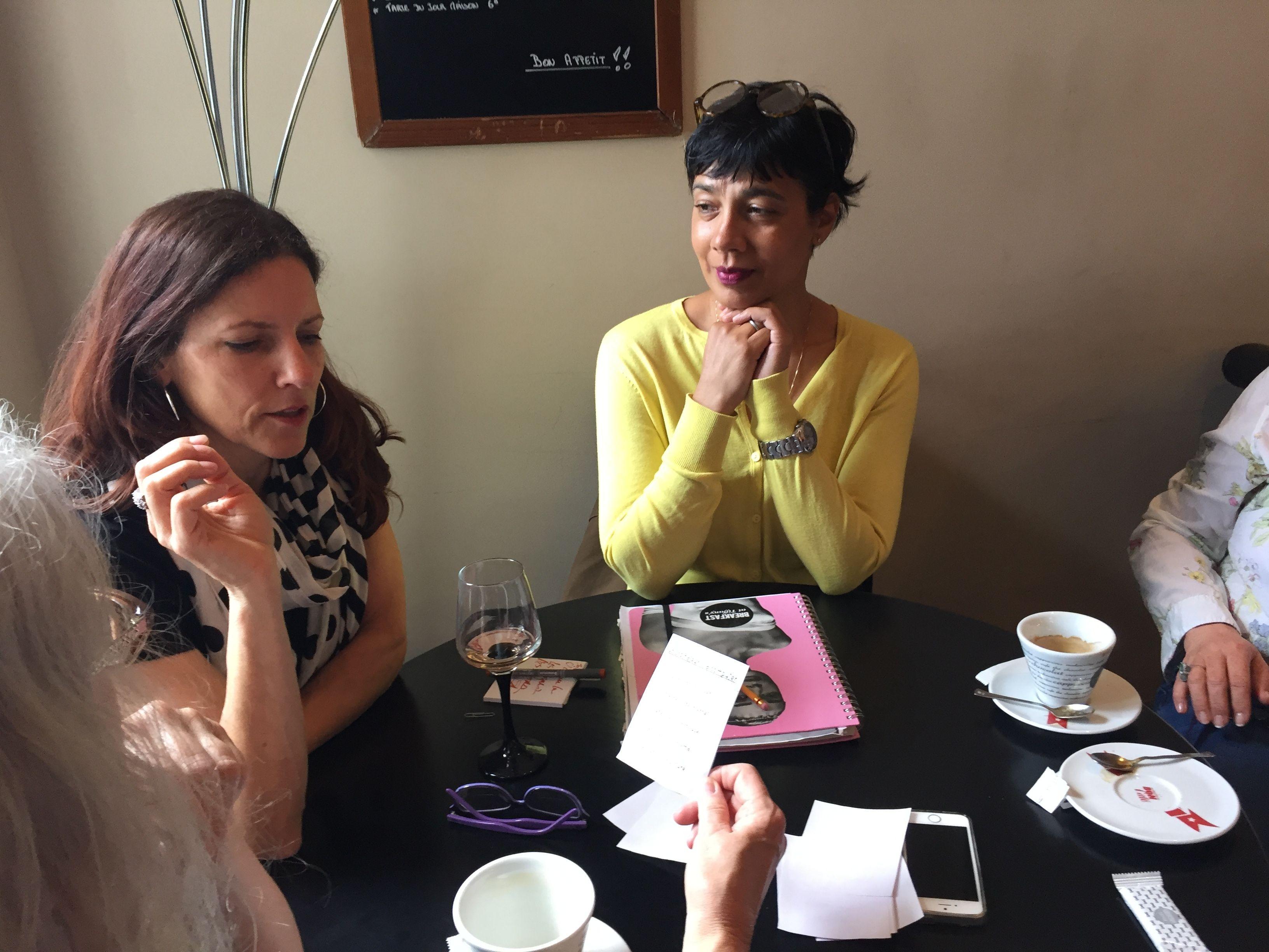 French Café Conversation in Béziers