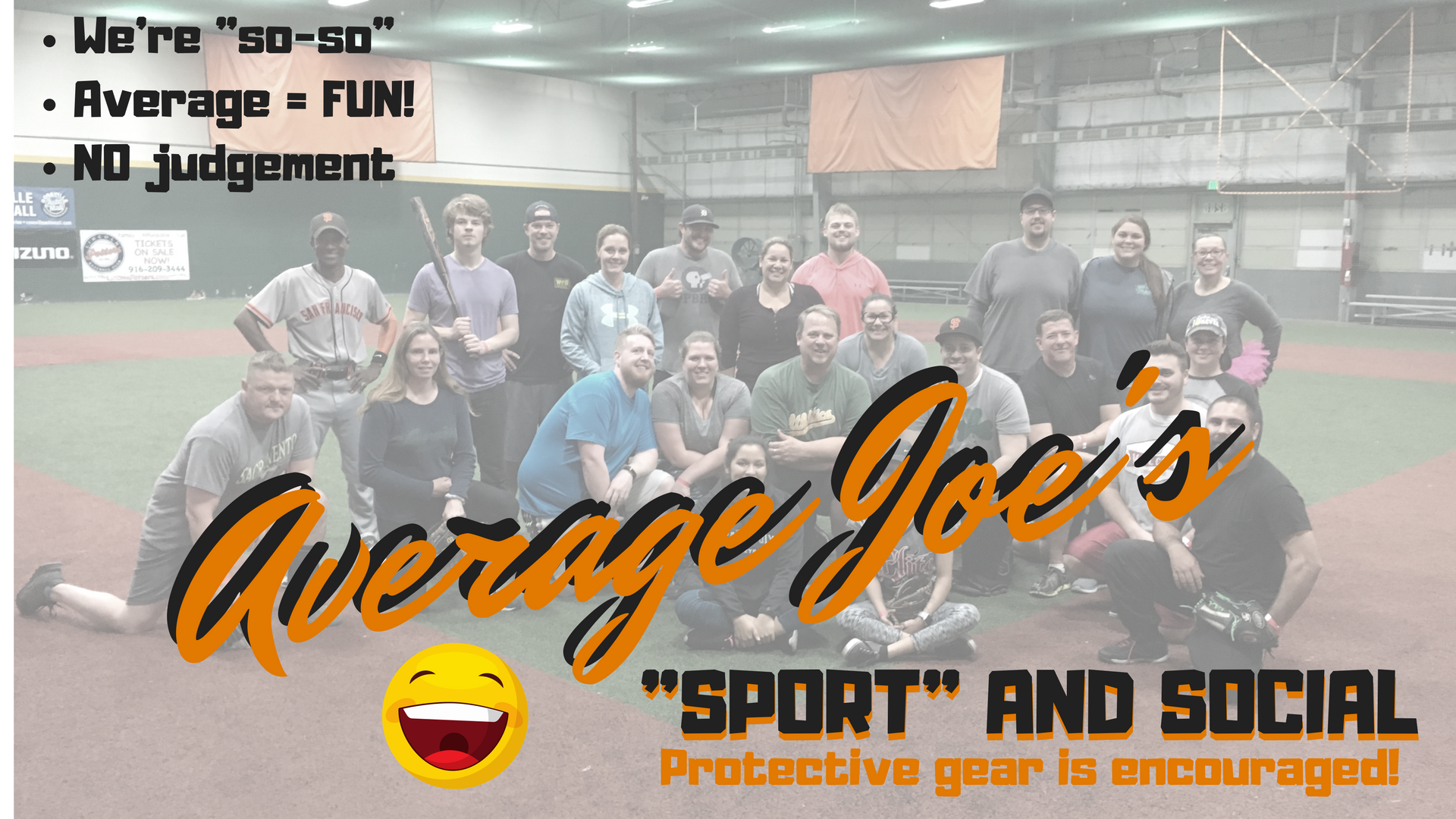 "Average Joe's ""Sport"" and Social"