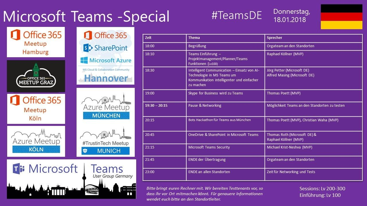 Microsoft Teams Special Meetup