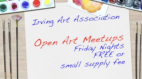 IAA Open Art / DFW Art Meetup