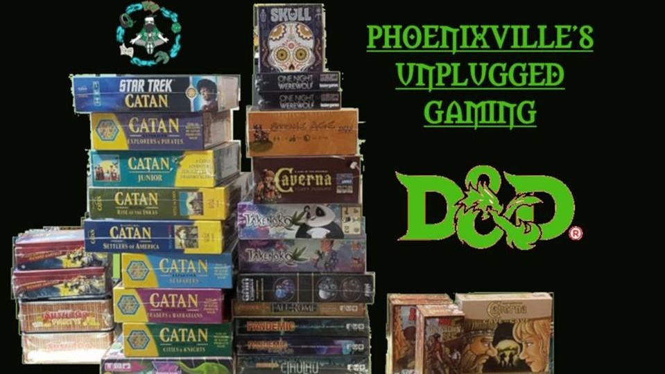 Phoenixville's Unplugged Gaming
