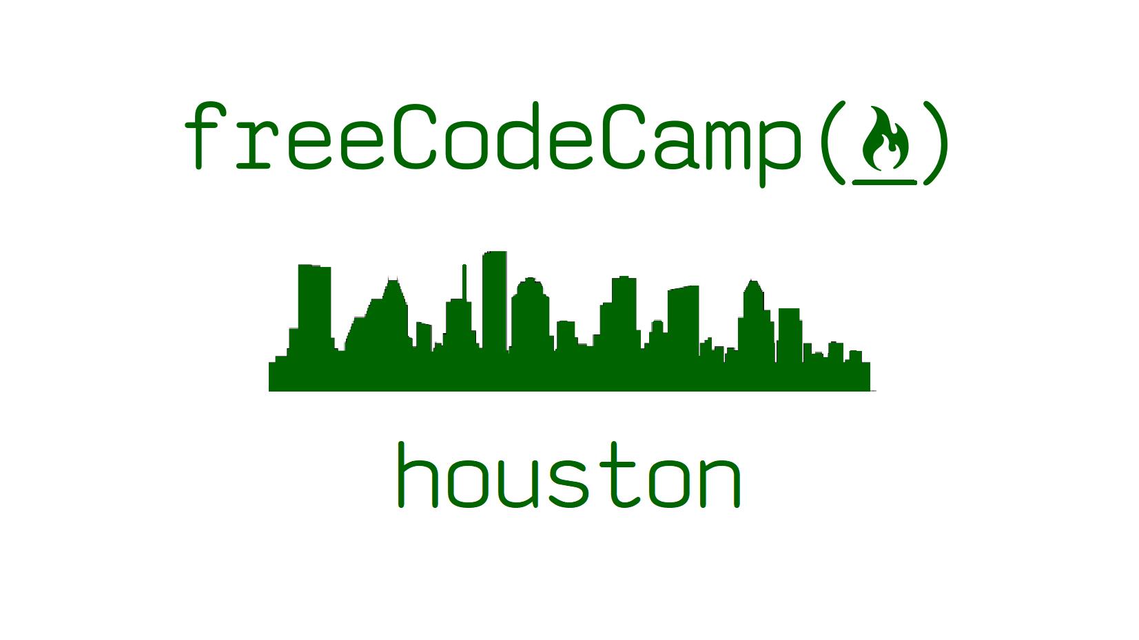 freeCodeCamp - Houston