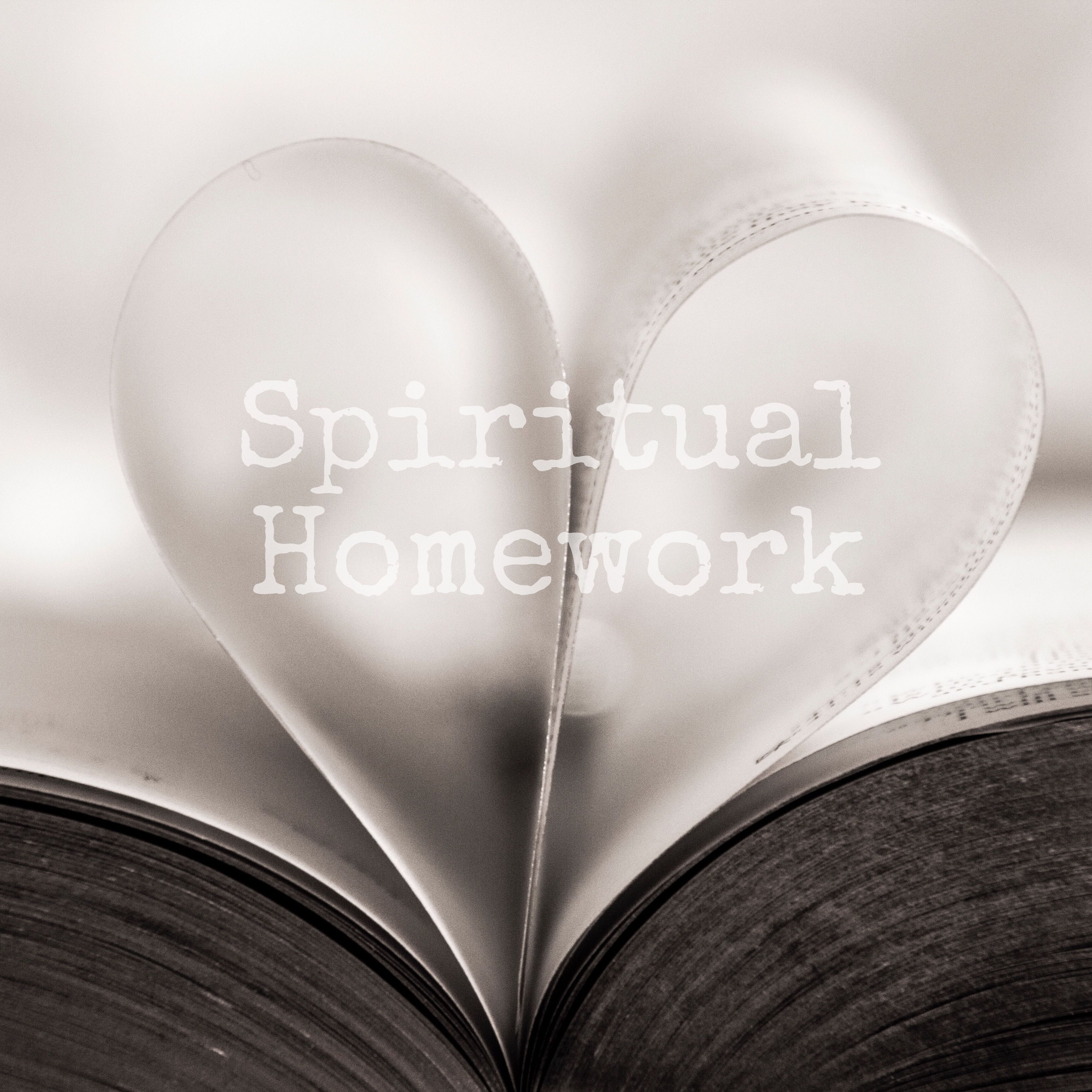 Spiritual Homework   A Sacred Space for growth and expansion