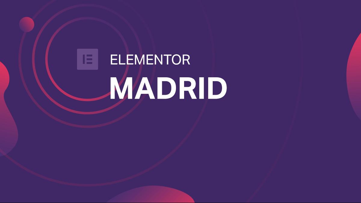 Elementor Madrid
