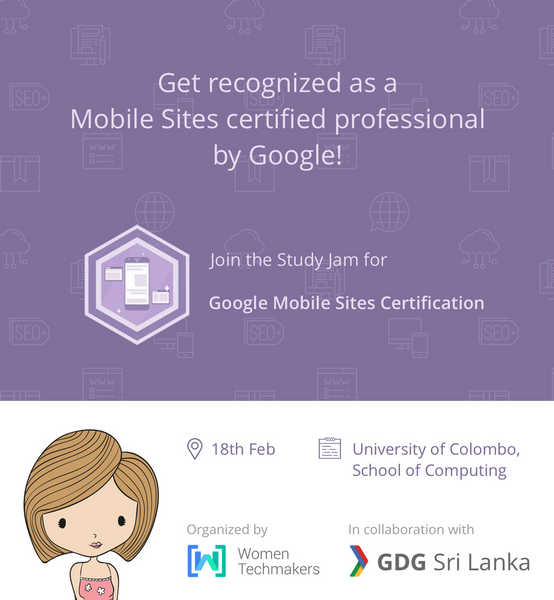 Mobile Websites Certification Study Jams Women Only Meetup