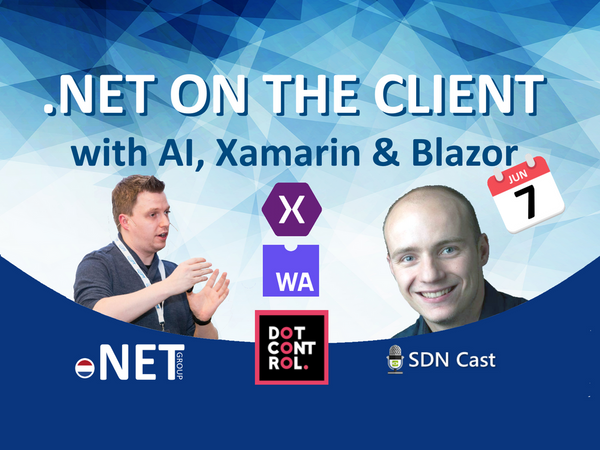 NET on the client with AI, Xamarin & Blazor | Meetup