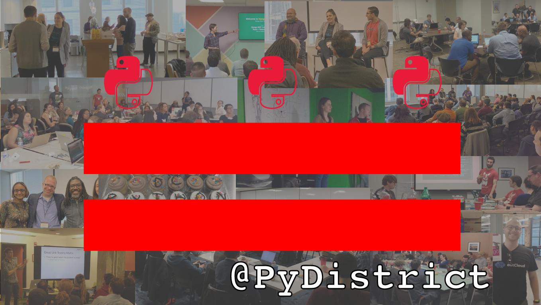 PyDistrict™